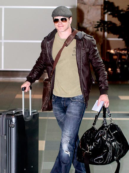 BAGGAGE CARRIER photo | Kellan Lutz