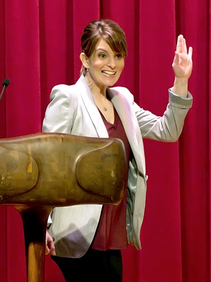 SHOW OF HANDS photo | Tina Fey
