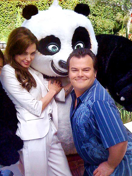 'PANDA'MONIUM   photo | Angelina Jolie, Jack Black