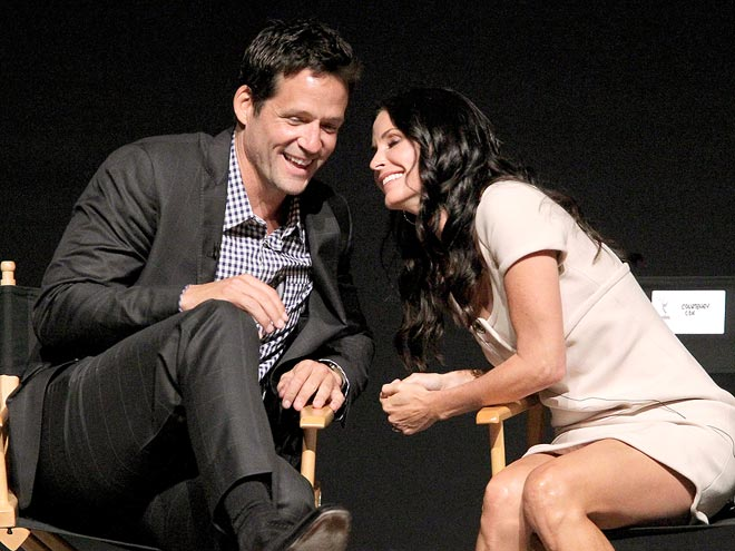 EXTREME CLOSE UP! photo | Courteney Cox, Josh Hopkins