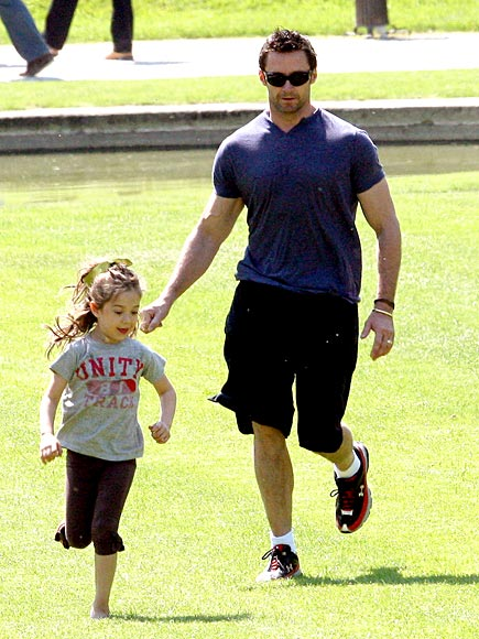PARISIAN PLAYDATE photo | Hugh Jackman