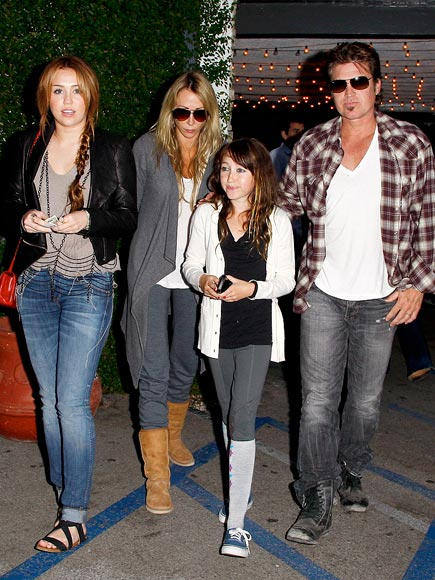 ALL 'FOUR' ONE photo | Billy Ray Cyrus, Miley Cyrus