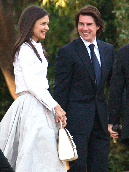 WEDDING WHITES photo | Katie Holmes, Tom Cruise