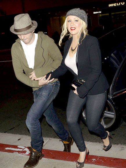 STEAK OUT photo | Christina Aguilera