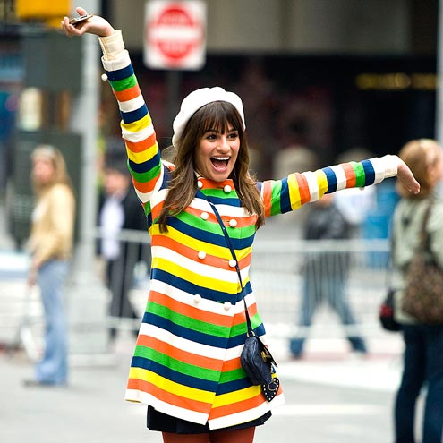 RAINBOW BRIGHT photo | Lea Michele