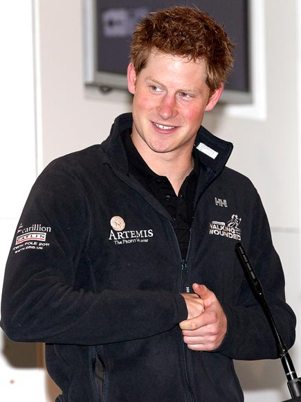 HAPPY RETURNS photo | Prince Harry