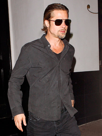 MAN IN BLACK photo | Brad Pitt