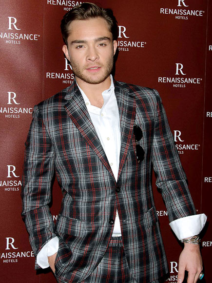 PLAID TO THE BONE photo | Ed Westwick