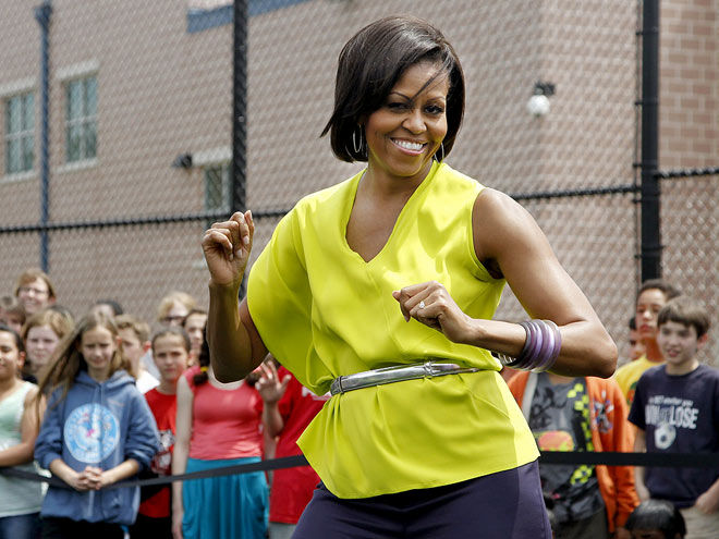 DANCE CLASS photo | Michelle Obama