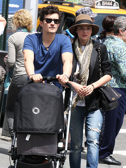 Pushy Parents photo | Miranda Kerr, Orlando Bloom