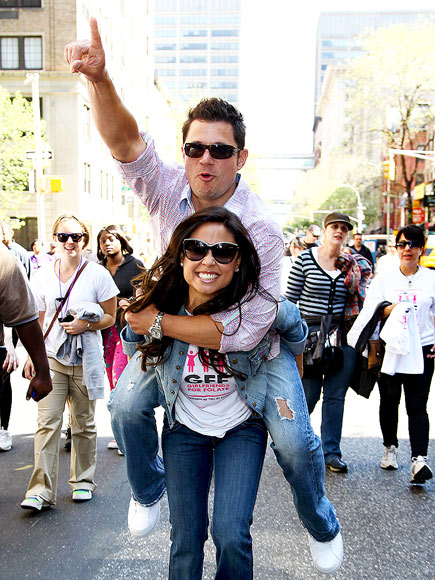 CARRIED AWAY photo | Nick Lachey, Vanessa Minnillo