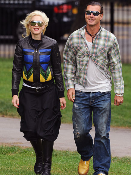 HAPPY GO LUCKY photo | Gavin Rossdale, Gwen Stefani