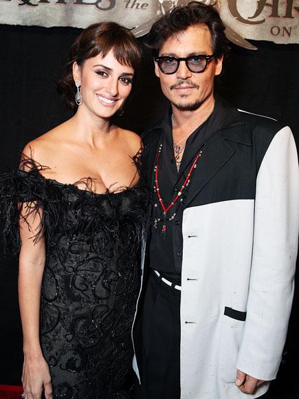 A PREMIERE PAIR photo | Johnny Depp, Penelope Cruz