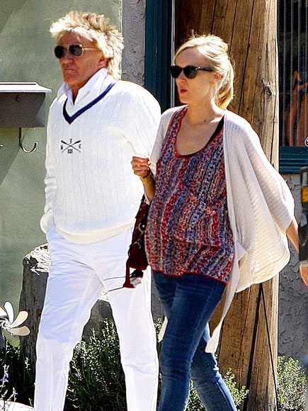 MODERN FAMILY photo | Kimberly Stewart, Rod Stewart