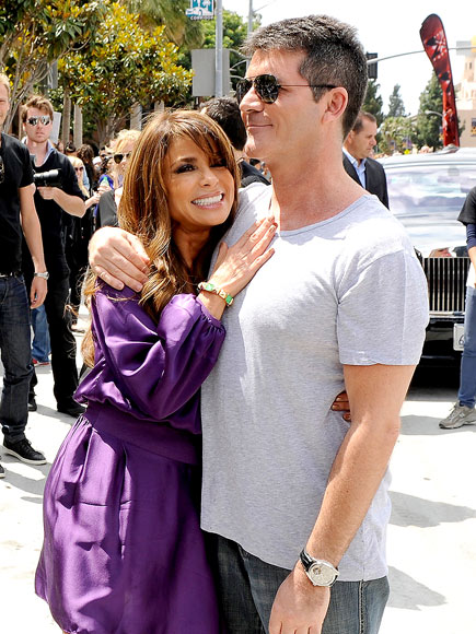 BACK TO REALITY photo | Paula Abdul, Simon Cowell