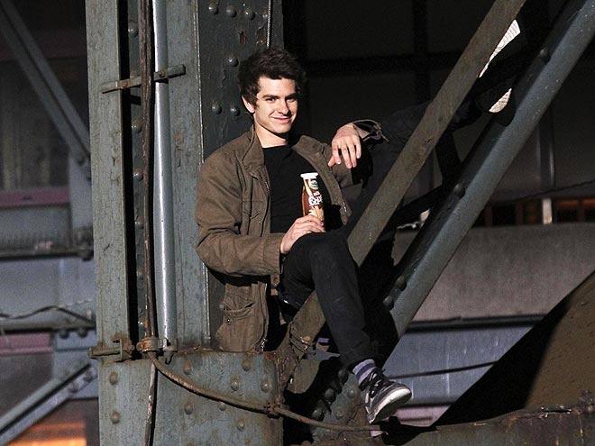 MILKING IT photo | Andrew Garfield