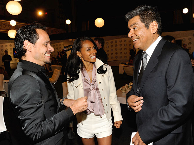 LAUGH IN photo | George Lopez, Jada Pinkett Smith, Marc Anthony