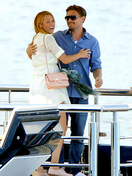 LOVE BOAT? photo | Blake Lively, Leonardo DiCaprio