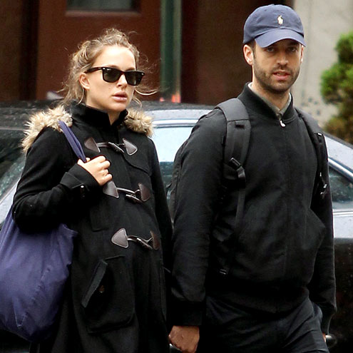 COORDINATED COUPLE photo | Benjamin Millepied, Natalie Portman