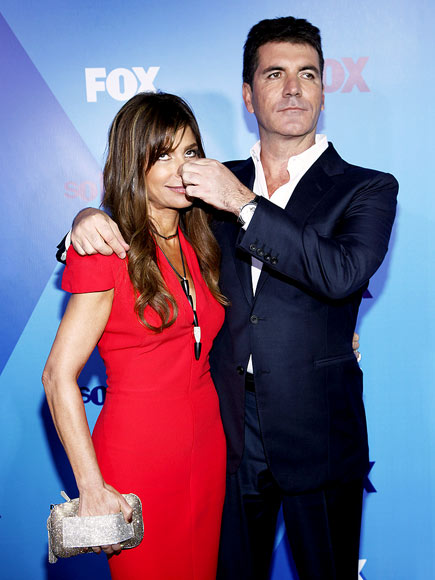 SIMON NOSE BEST photo | Paula Abdul, Simon Cowell