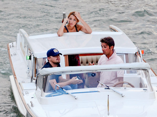 'NICE RIDE photo | Blake Lively, Leonardo DiCaprio