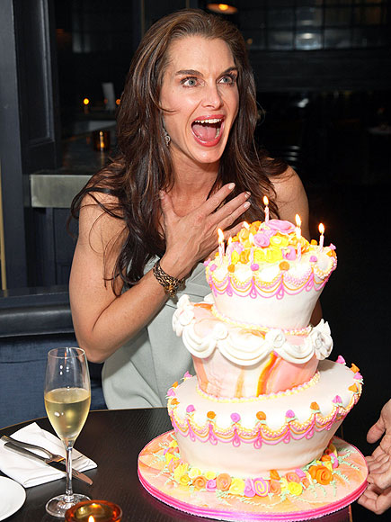 PIECE OF CAKE photo | Brooke Shields