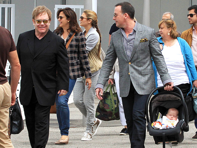 PRECIOUS CARGO photo | David Furnish, Elton John