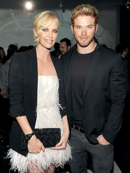 FACE TIME photo | Charlize Theron, Kellan Lutz
