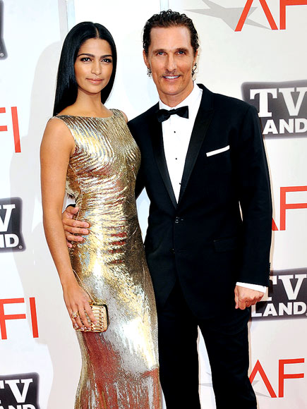 HONOR ROLL photo | Camila Alves, Matthew McConaughey