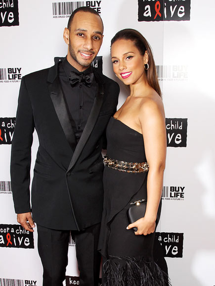 THEY'RE BALLERS photo | Alicia Keys, Swizz Beatz