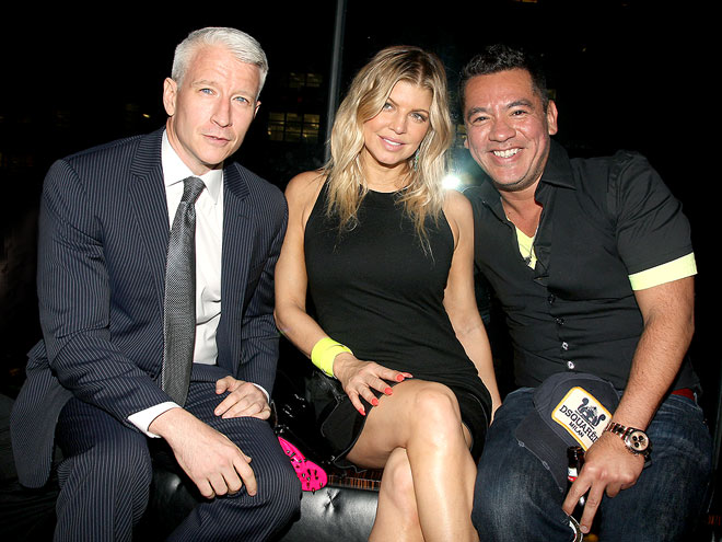 IN FASHION photo | Anderson Cooper, Fergie