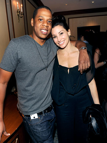BACKSTAGE BUDS photo | Gina Gershon, Jay-Z