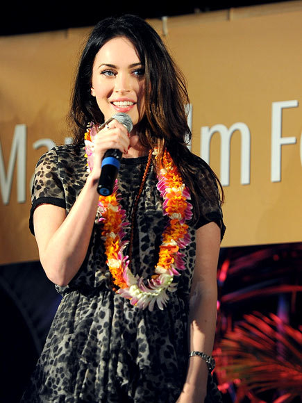 GETTING LEI'D photo | Megan Fox