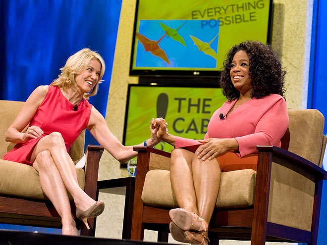 GIRL TALK photo | Oprah Winfrey, Paula Zahn