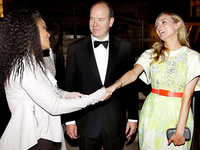 MIDDLE MAN photo | Diane Kruger, Janet Jackson, Prince Albert