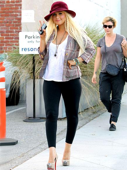 HATS ALL, FOLKS photo | Christina Aguilera