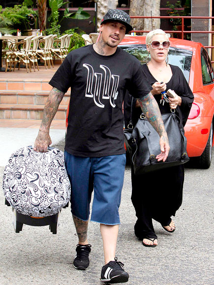 BABY BUNDLE photo | Carey Hart, Pink