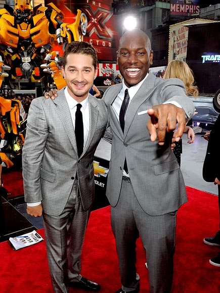 MORE THAN MEETS THE EYE photo | Shia LaBeouf, Tyrese, Tyrese Gibson