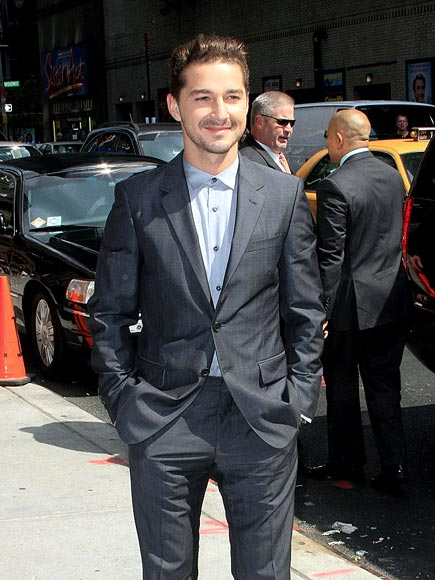 'LETTERMAN' JACKET   photo | Shia LaBeouf