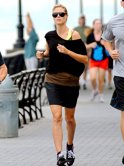 RUNNER'S WORLD photo | Heidi Klum