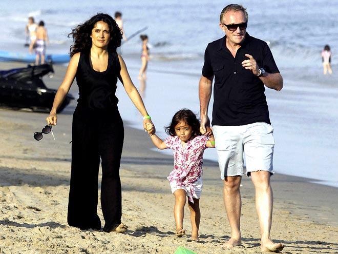 FAMILY MATTERS photo | Henri Pinault, Salma Hayek