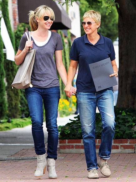 SHOP GIRLS photo | Ellen DeGeneres, Portia de Rossi