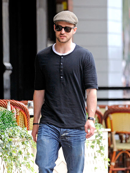 SIDEWALK STRUT photo | Justin Timberlake