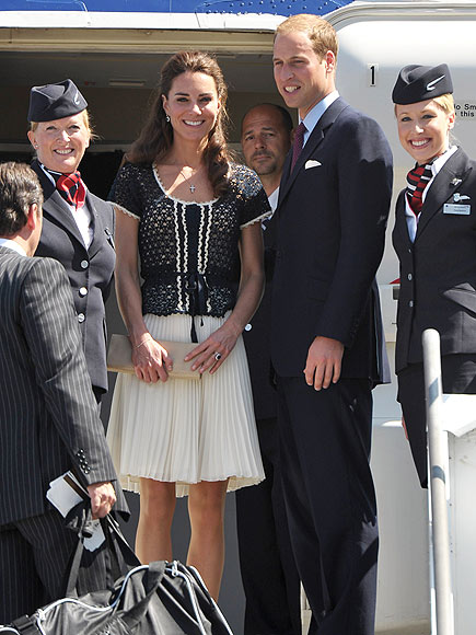 Heading Home photo | Kate Middleton, Prince William