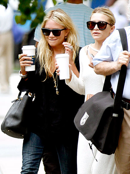 DOUBLE SHOT photo | Ashley Olsen, Mary-Kate Olsen