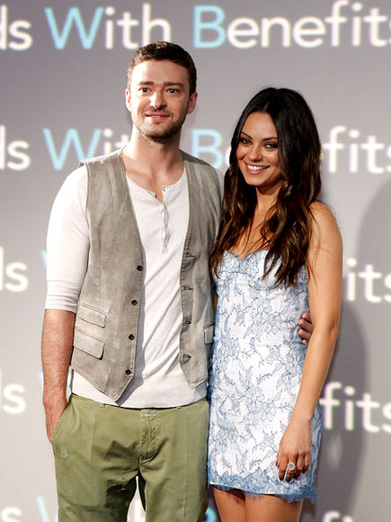 JUST 'FRIENDS' photo | Justin Timberlake, Mila Kunis