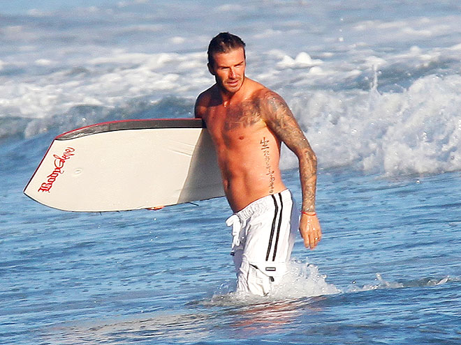 SURF'S UP photo | David Beckham