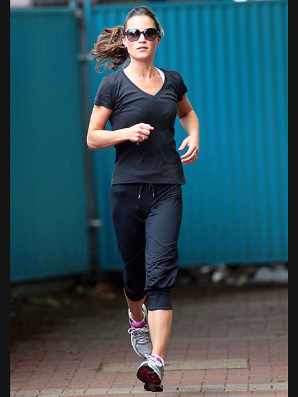 LONDON JOG photo | Pippa Middleton