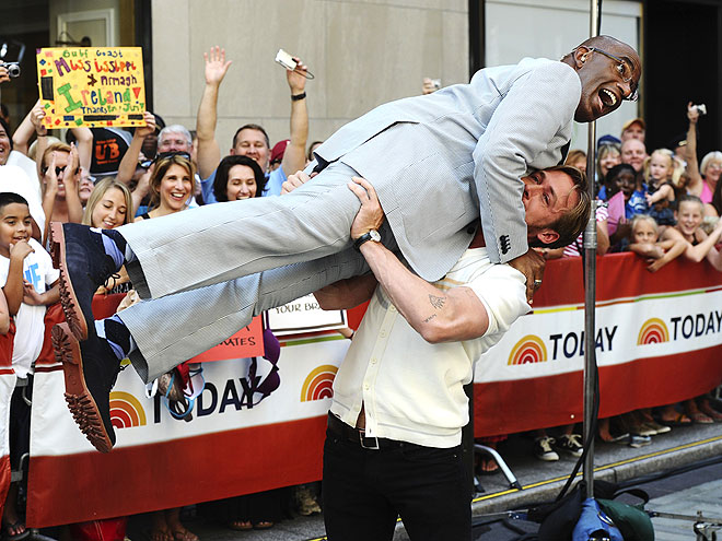 WORKOUT BUDDY photo | Al Roker, Ryan Gosling