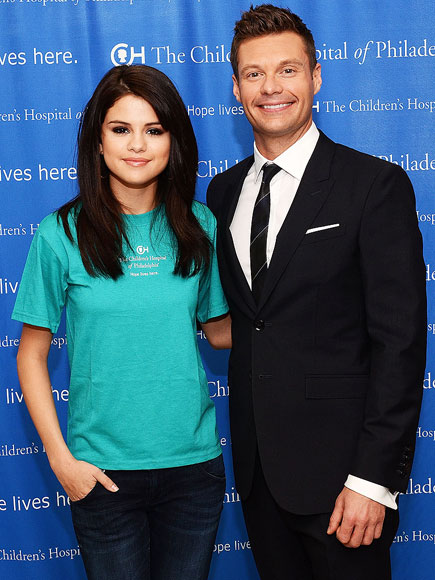 CHEER TEAM photo | Ryan Seacrest, Selena Gomez